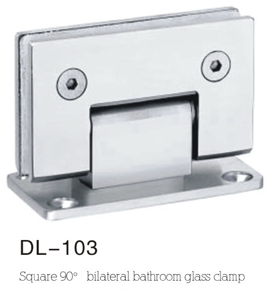 Bathroom Hinge DL103,double side 90angle