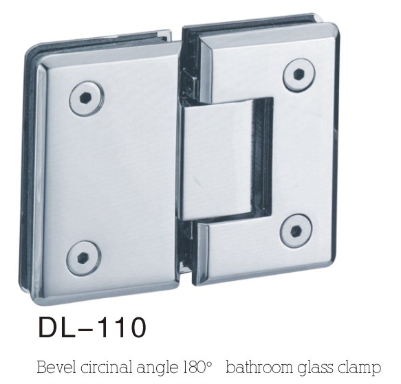Bathroom Hinge DL110, bevel 180angle
