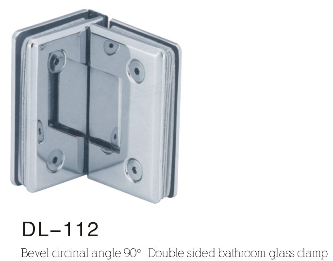 Bathroom Hinge DL112, bevel double side 135angle