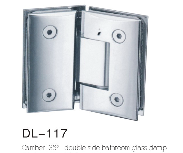 Bathroom Hinge DL117, camber double side 135angle