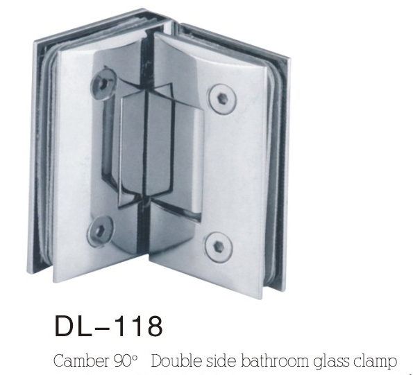 Bathroom Hinge DL118, camber double side 90angle