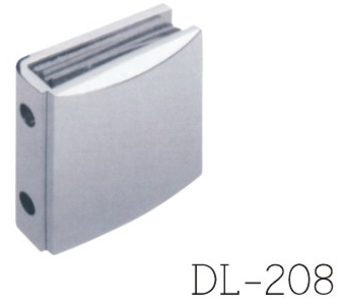 Glass Clamps DL208, 0 angle