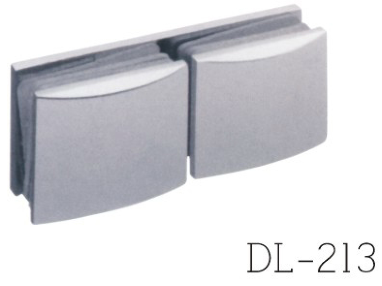Glass Clamps DL213, 180 angle, double