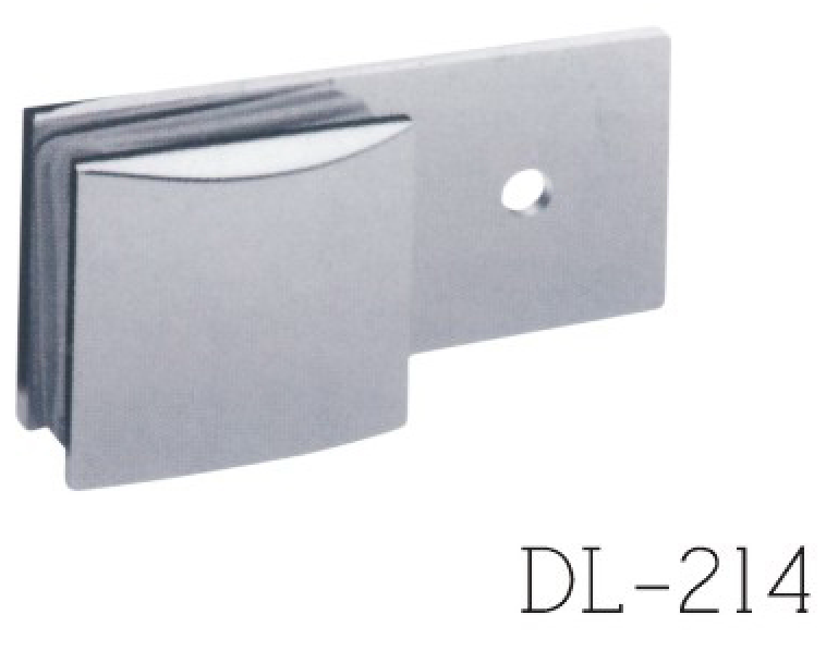 Glass Clamps DL214, 180 angle, single