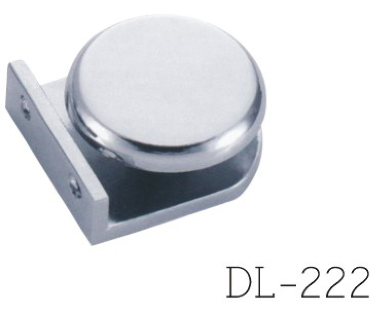 Glass Clamps DL222, 0 angle
