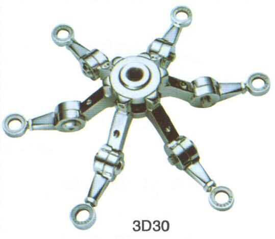 Glass spiders fitting RS3D30 series