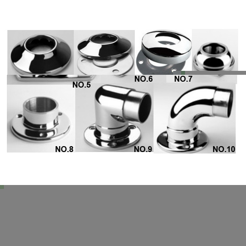 Stainless Steel Railing Fitting railing base plate and base cover