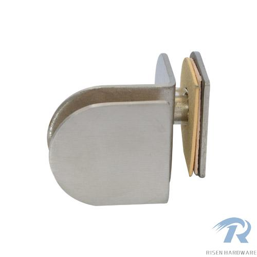 Glass Clamps RS833, 90 angle, double side, stainless steel