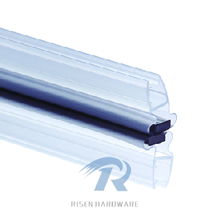 Megnetic sealing strips MX001, with megnet, color blue and transparent