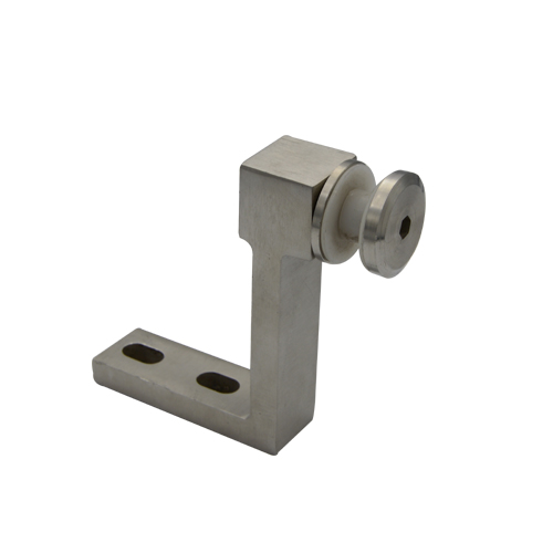 Glass fencing clamps LG701, Material stainless steel satin