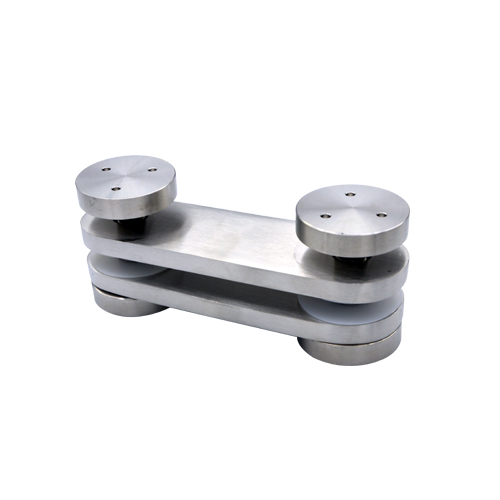 Glass clamps LG702, Material stainless steel ,satin