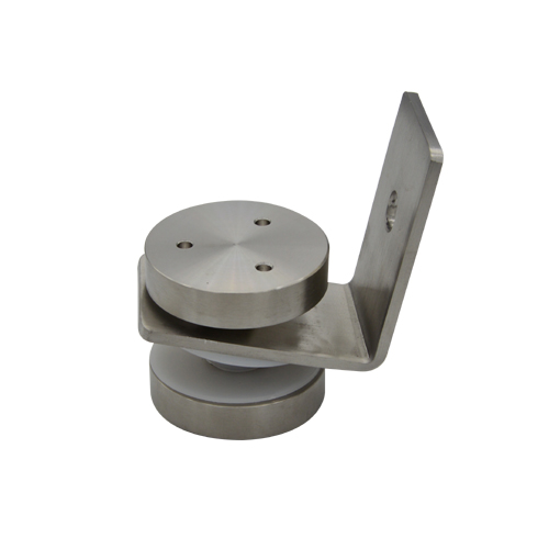 Glass clamps LG707, fence fitting, Material stainless steel