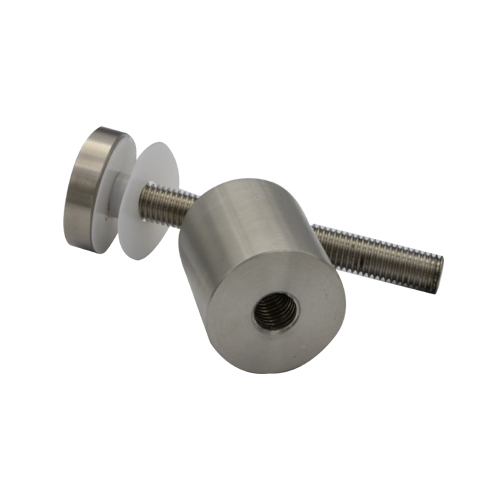 Glass clamps LG708, fence fitting, Material stainless steel