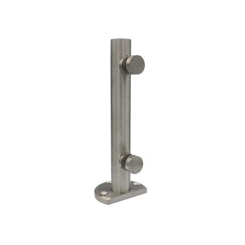 Glass fencing spigot 720, stainless still 304, satin, dia32x255mm