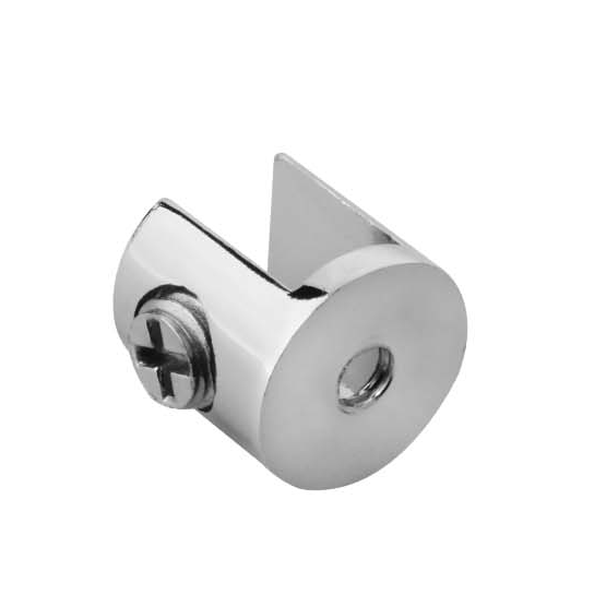 Fixed glass holder YS-027L, Zinc Alloy