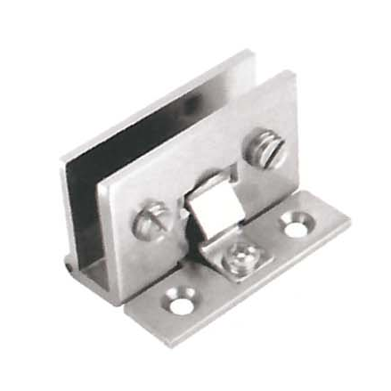 Glass door hinge YS-114, material zinc alloy