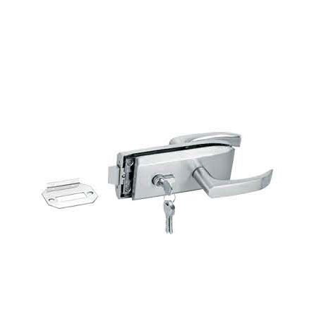 Glass Door Locks LC-040, Stainless steel