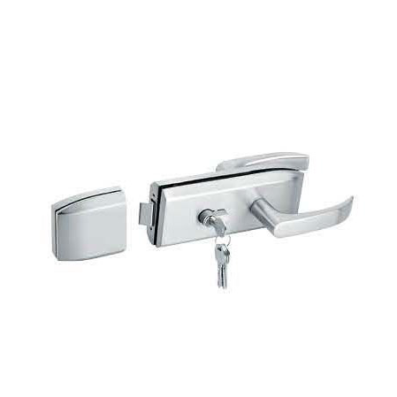 Glass Door Locks LC-038, Stainless steel