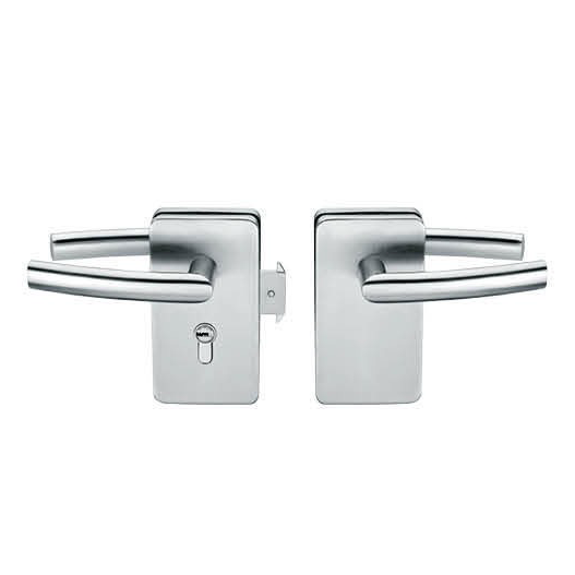 Glass Door Locks LC-031, Stainless steel