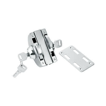 Glass Door Locks LC-001A, Stainless steel  - 副本